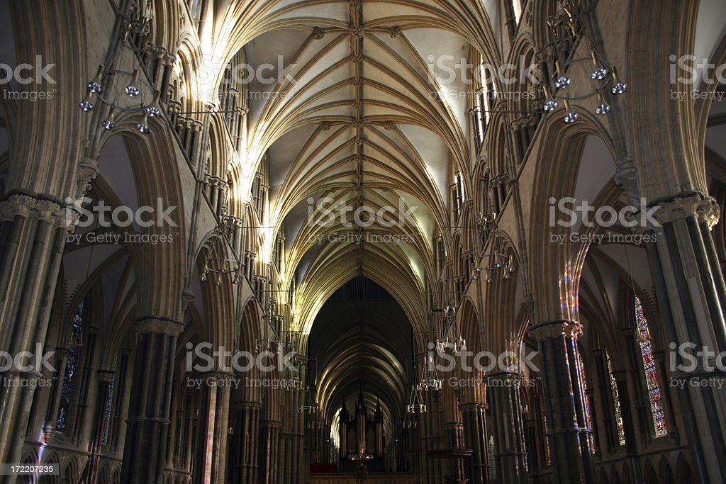 lincoln cathedral royalty-free stock photo