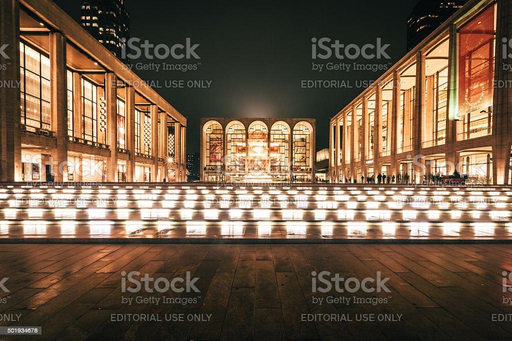 Lincoln Center – New York City, NY stock photo