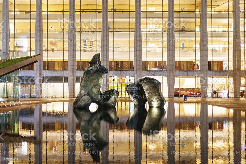 Lincoln Center New York stock photo
