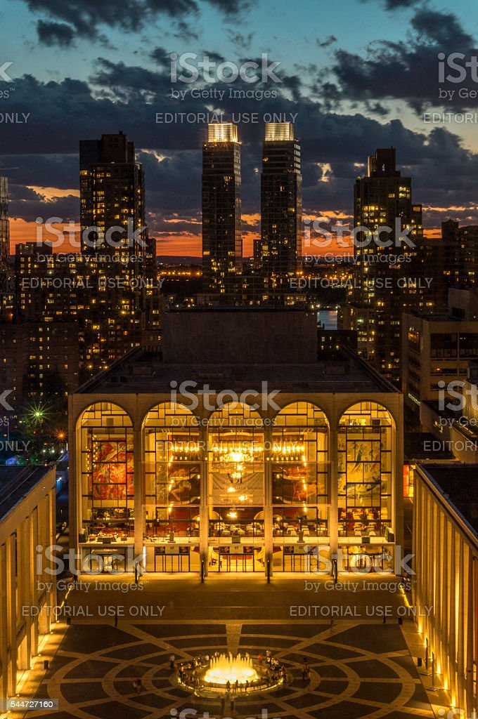 Lincoln Center , NYC stock photo