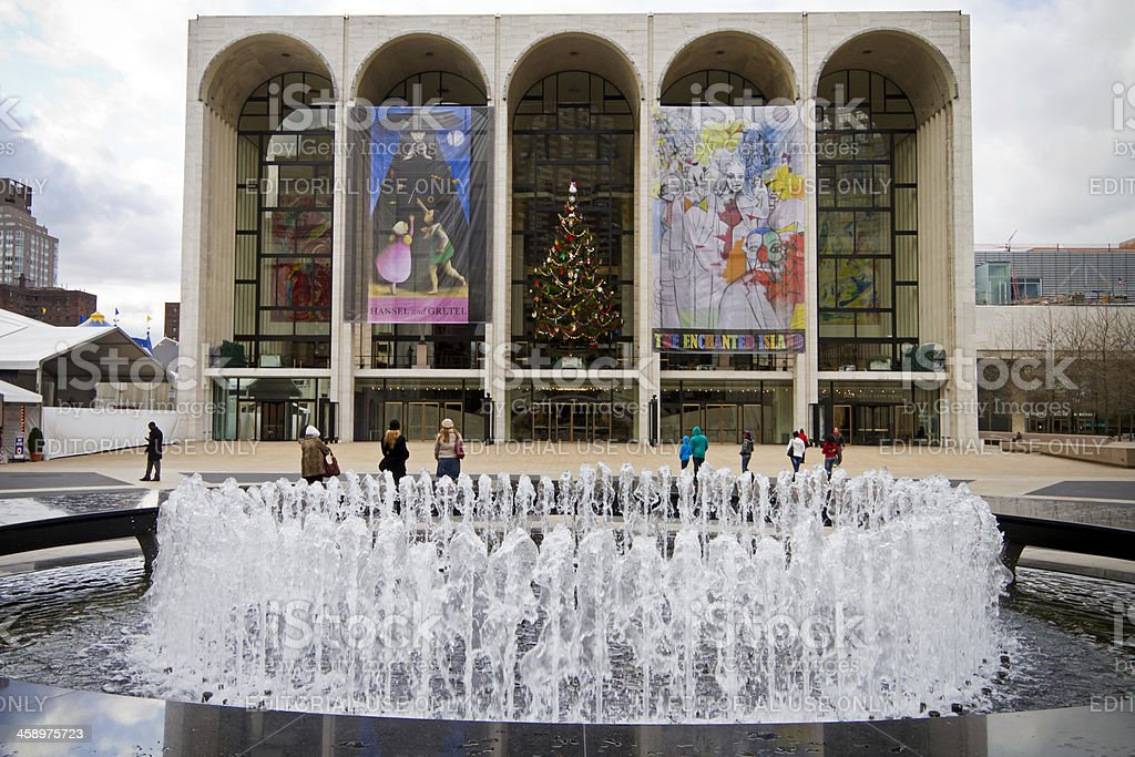 Lincoln Center NYC # 5 XXL stock photo