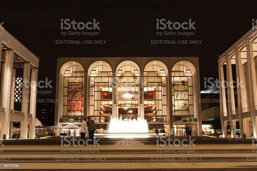 Lincoln Center stock photo