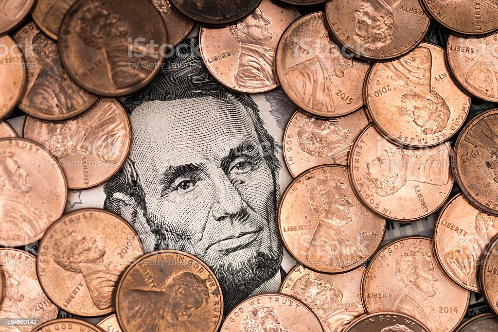 Lincoln Everywhere stock photo