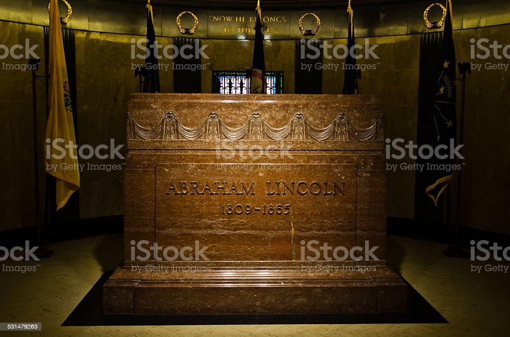 Lincoln para gravestone foto royalty-free
