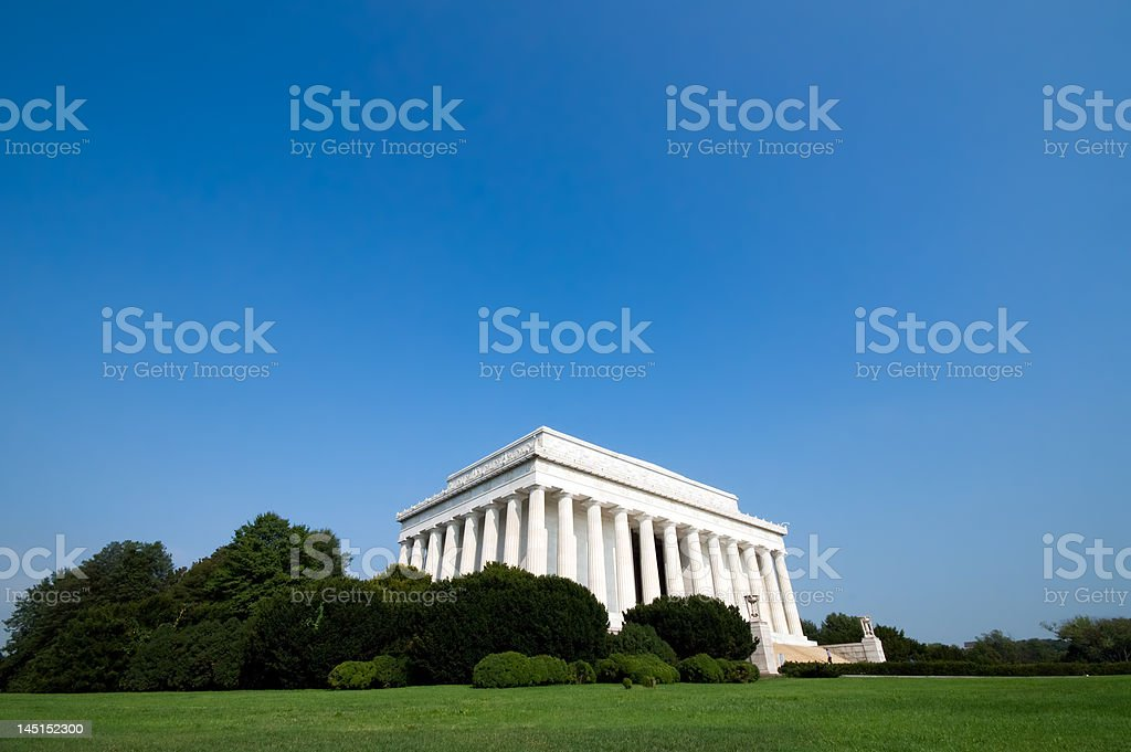 Lincoln Memoral stock photo