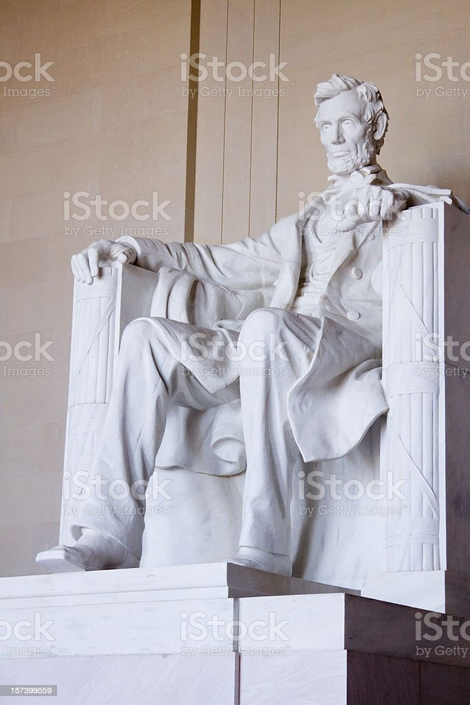 Lincoln Memorial royalty-free stock photo