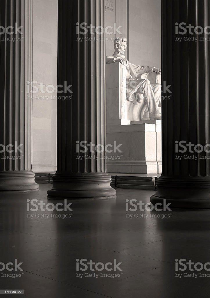 Lincoln Memorial Washington DC stock photo