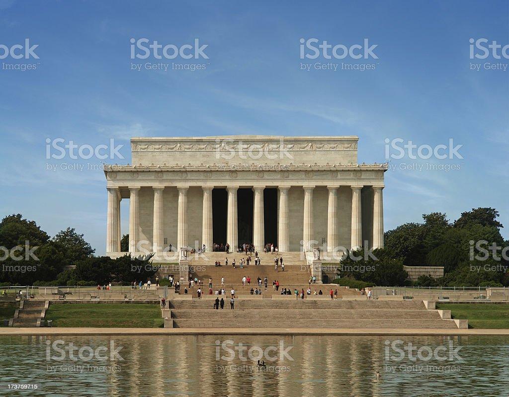 Lincoln Memorial, Washington DC stock photo