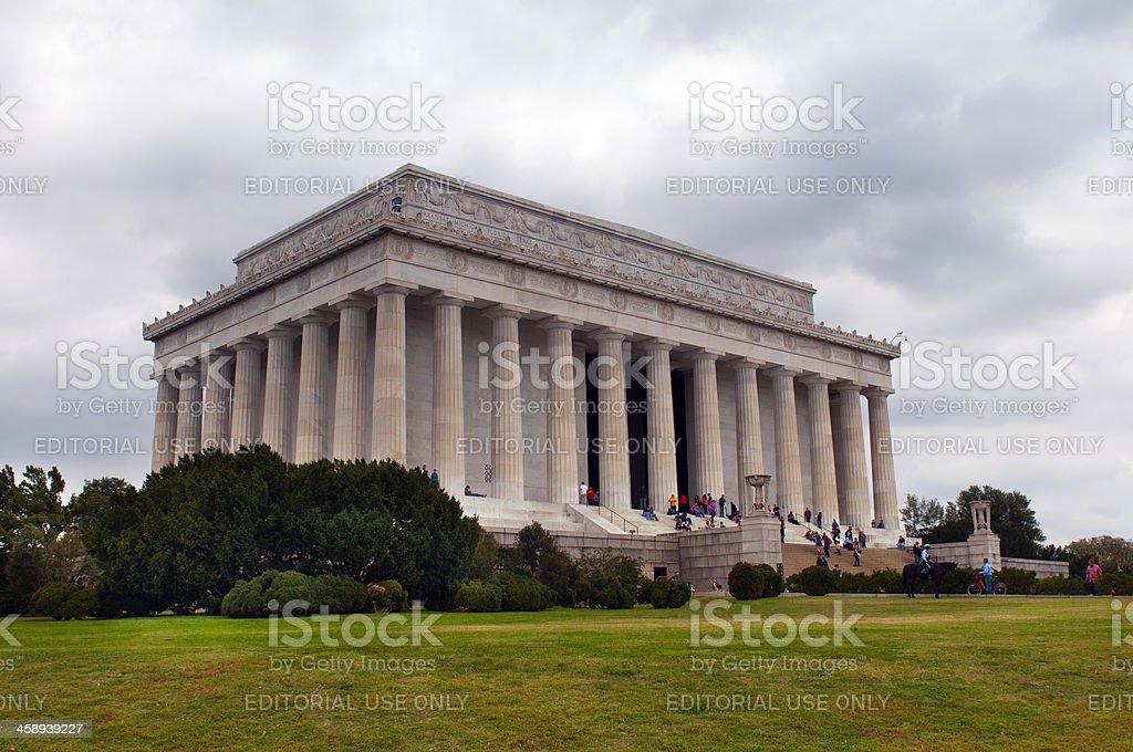 Lincoln Memorial, Washington, DC, USA stock photo