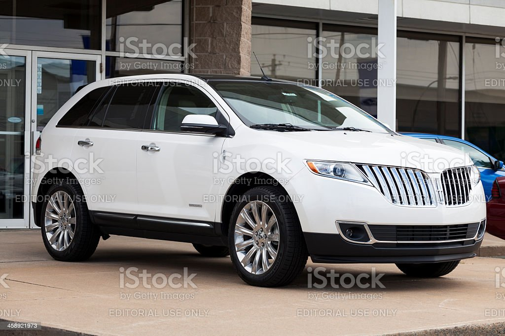 Lincoln MKX Limited Edition stock photo