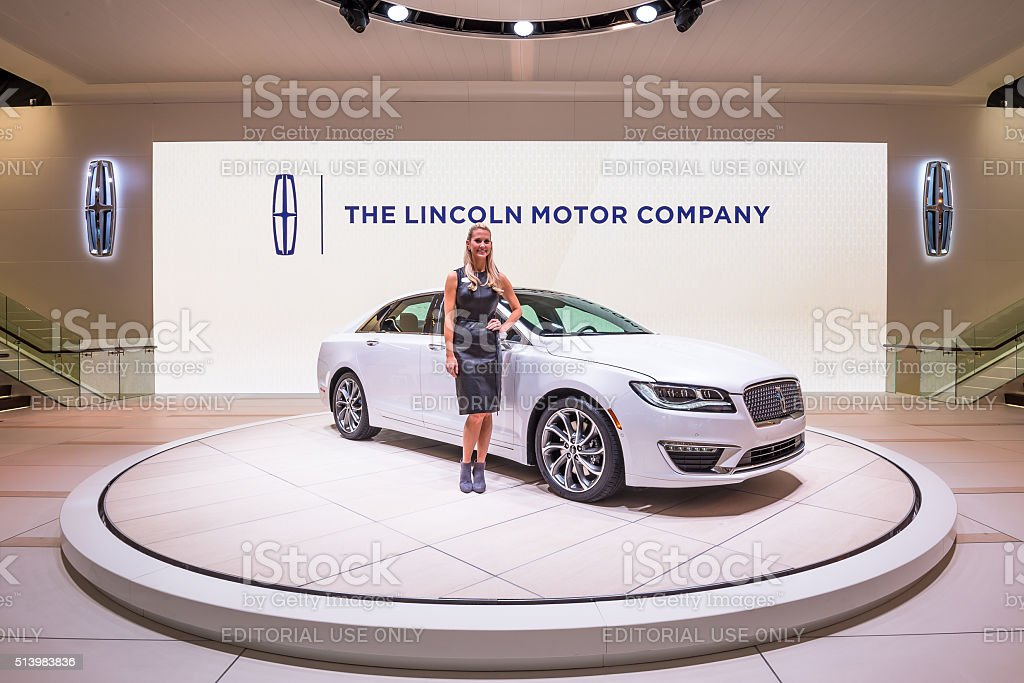 2017 Lincoln MKZ stock photo