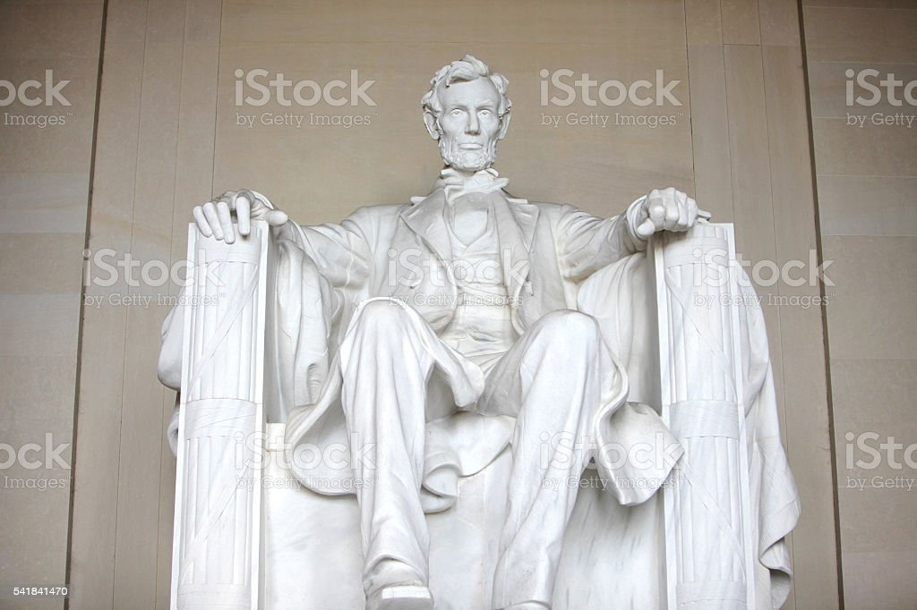 Lincoln Monument stock photo