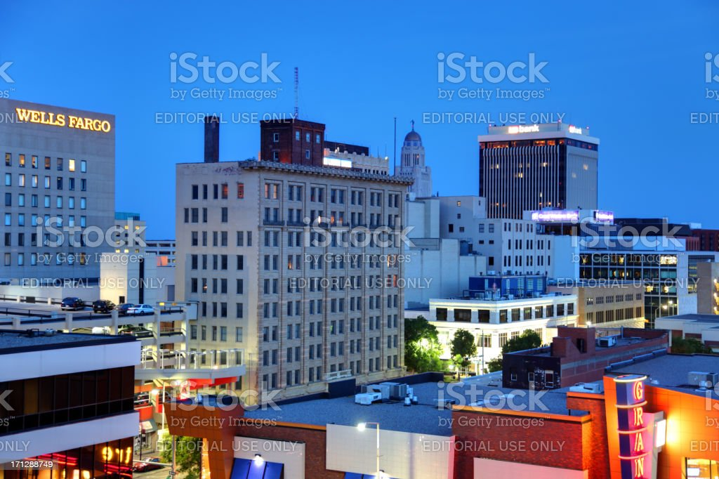 Lincoln, Nebraska stock photo