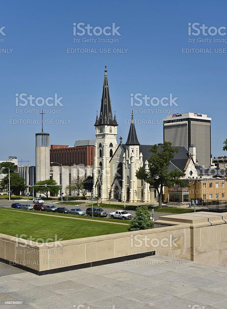 Lincoln, Nebraska royalty-free stock photo