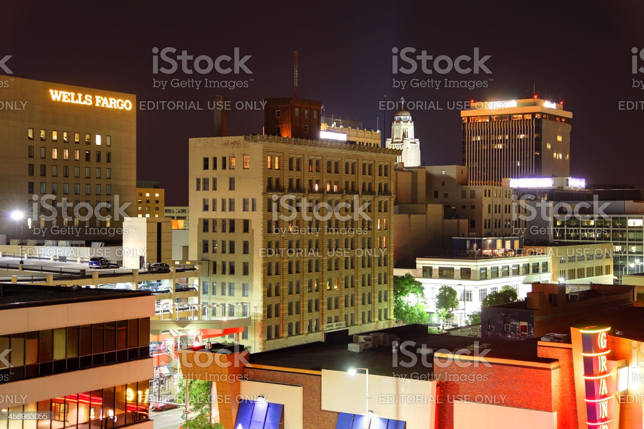 Lincoln, Nebraska royalty-free stock photo