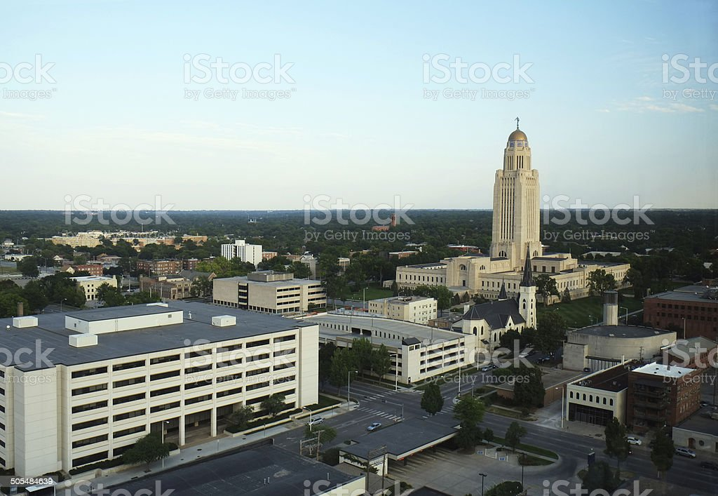 Lincoln Nebraska stock photo