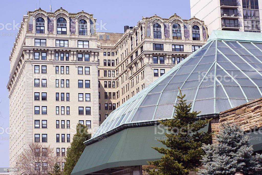 Lincoln Park architecture stock photo