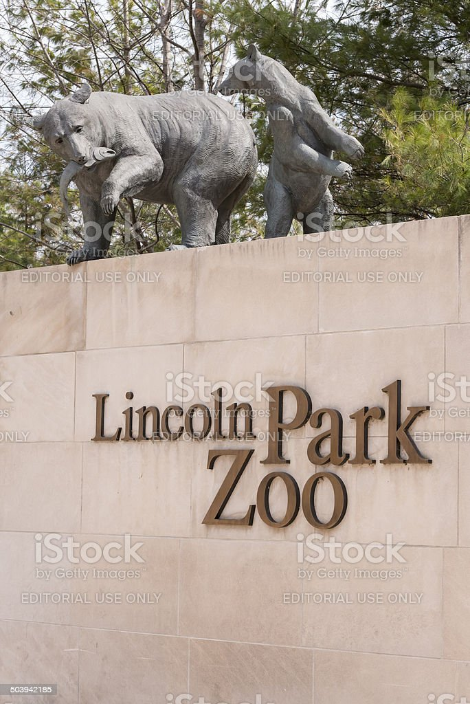 Lincoln Park Zoo stock photo