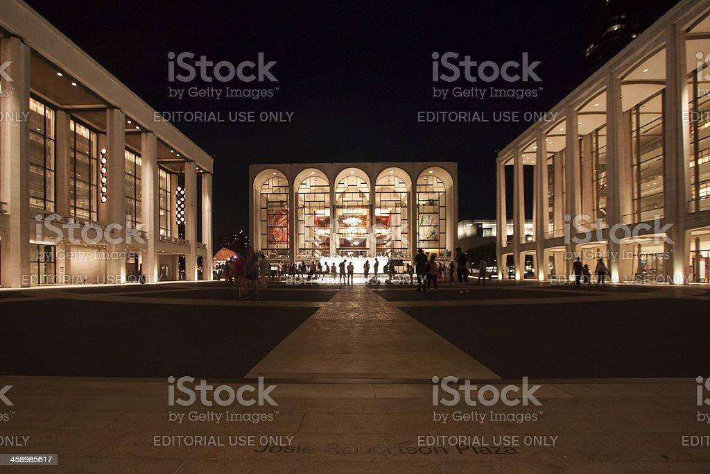 Lincoln Plaza stock photo