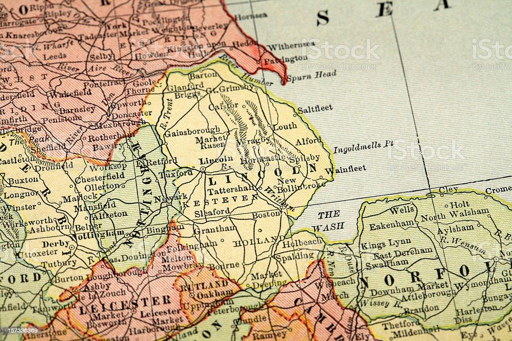 Lincolnshire stock photo