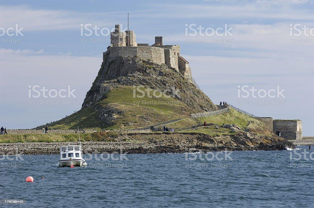 Lindisfarne Bay stock photo