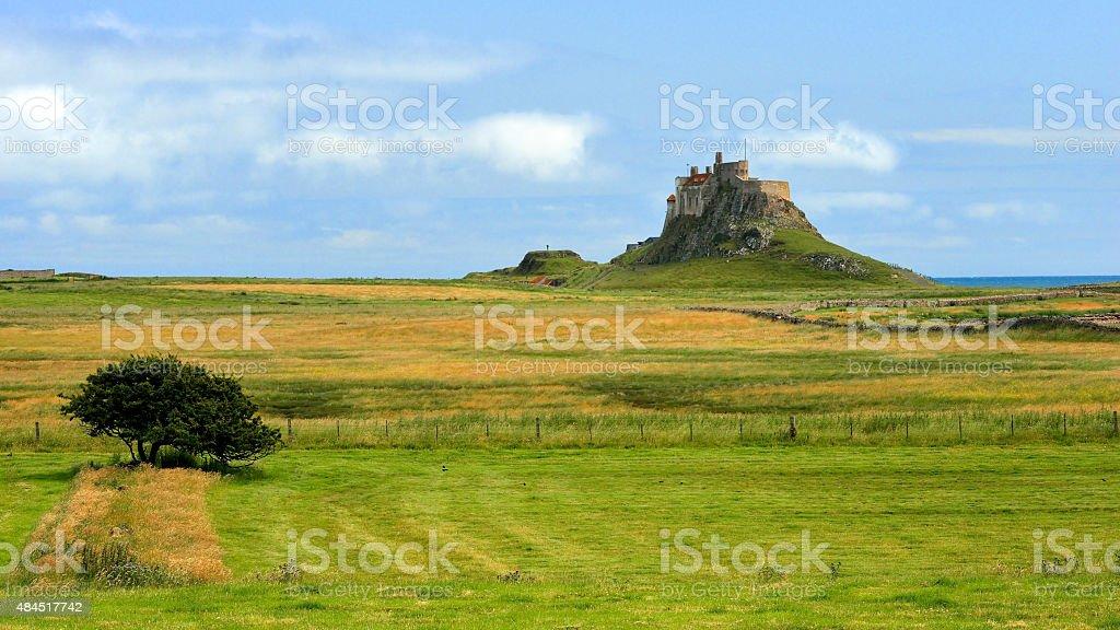 Lindisfarne Castle / Lindisfarne Castle / Holy Island stock photo