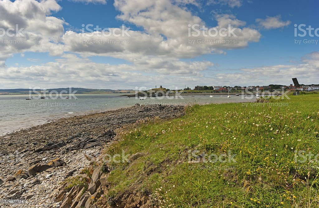 Lindisfarne royalty-free stock photo
