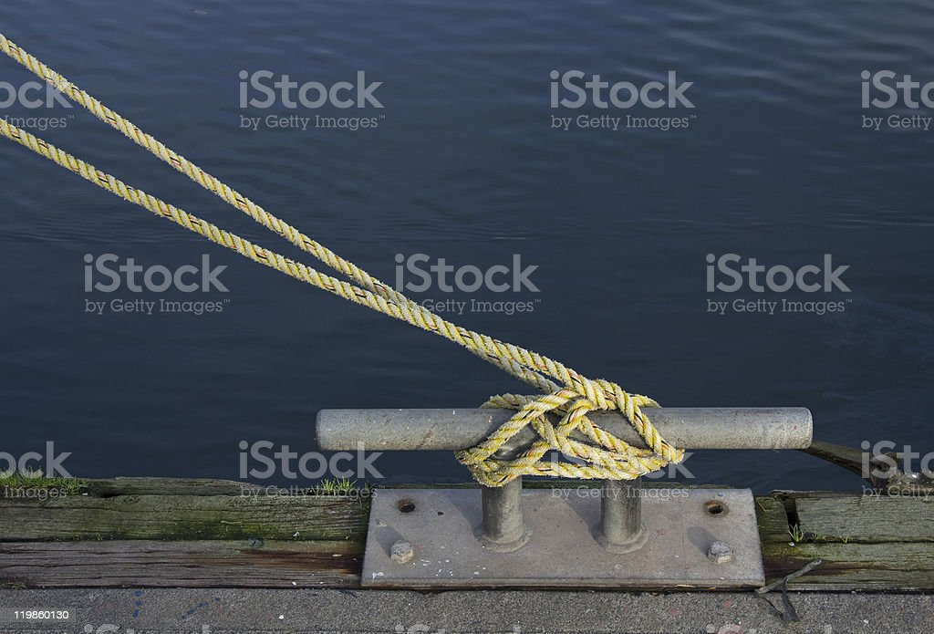 Line and Cleat royalty-free stock photo
