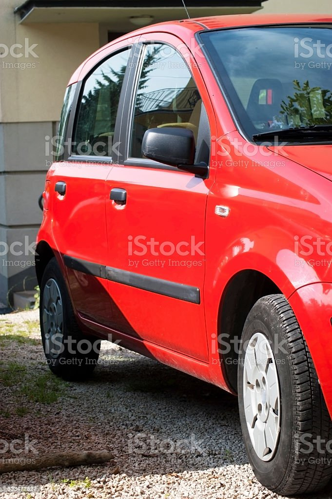 Line of Cars stock photo
