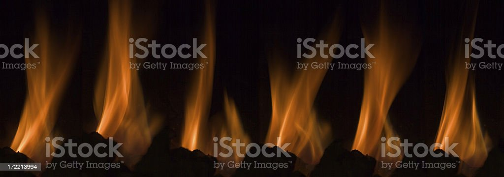 Line of fire royalty-free stock photo