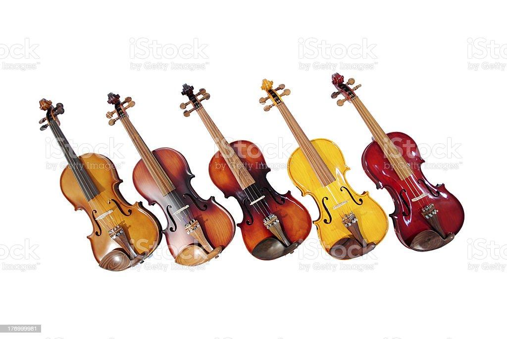 line violins stock photo
