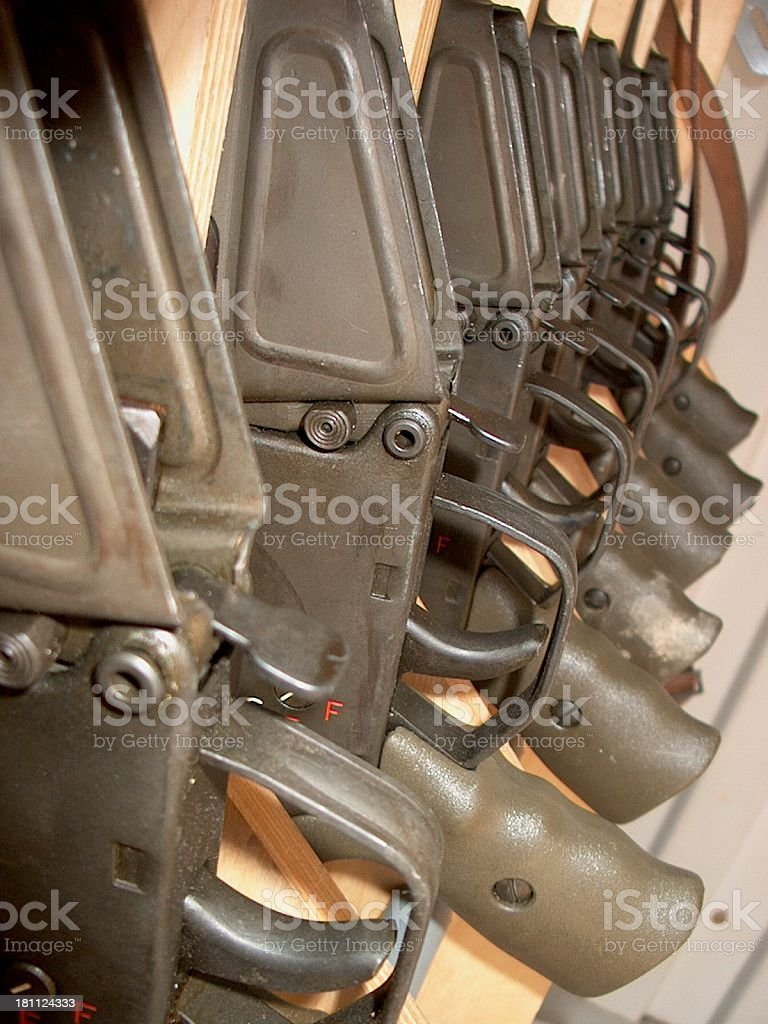 line weapons stock photo