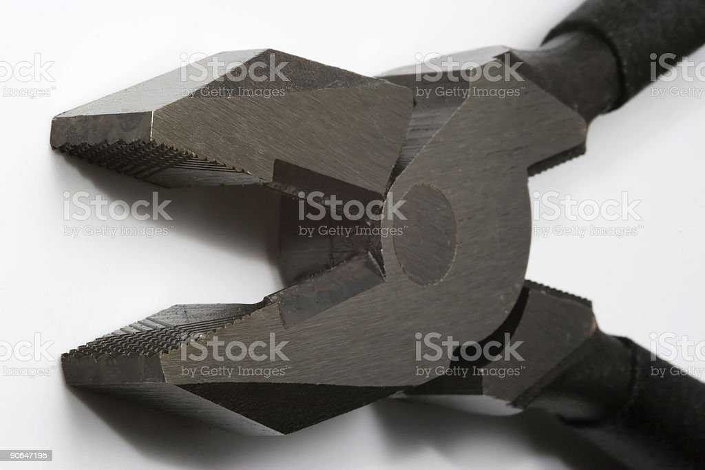 Lineman's Pliers royalty-free stock photo