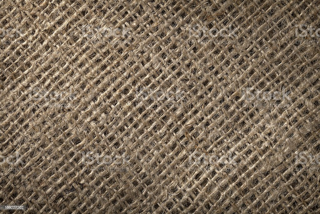 Linen sack background royalty-free stock photo