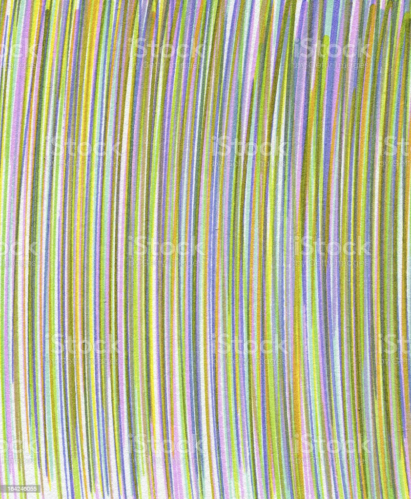 lines drawn in felt colored pens for marketing royalty-free stock photo