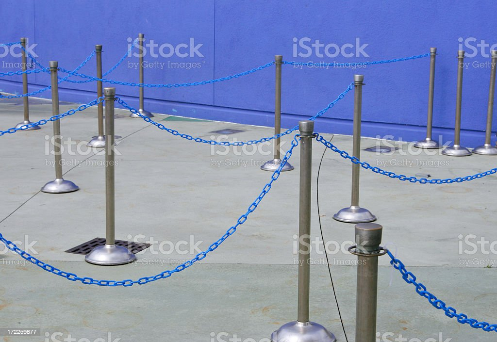 Lines for Entering royalty-free stock photo