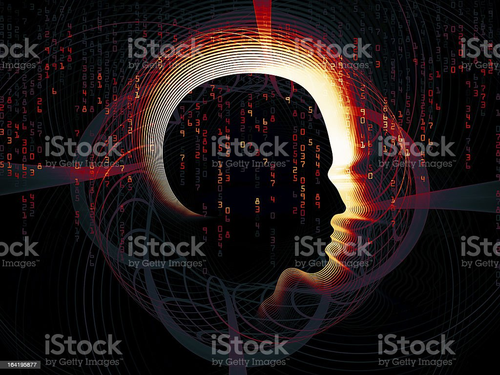 Lines of Intelligent Design royalty-free stock photo