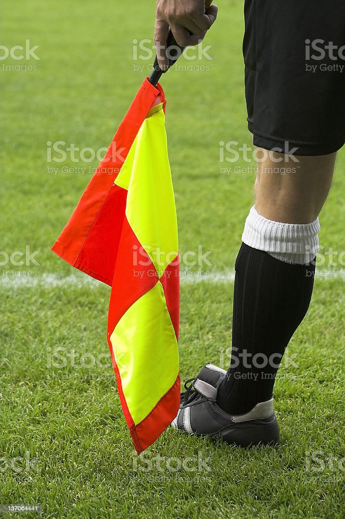 Linesman royalty-free stock photo