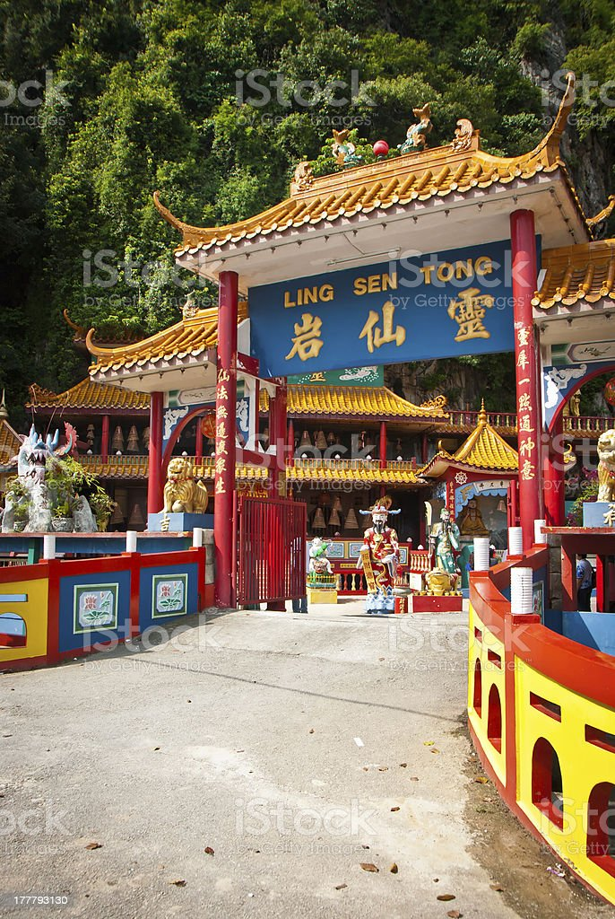 Ling Sen Tong, Temple cave, Ipoh stock photo