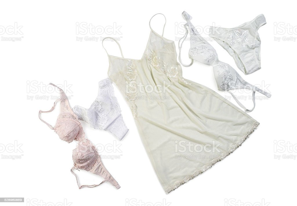 Lingerie isolated stock photo