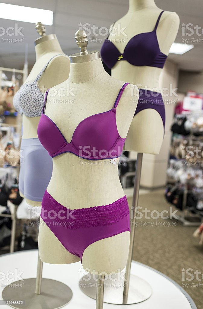 Lingerie Boutique stock photo