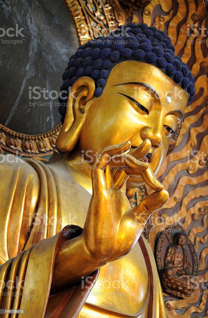 Lingyin temple, Hangzhou, China stock photo