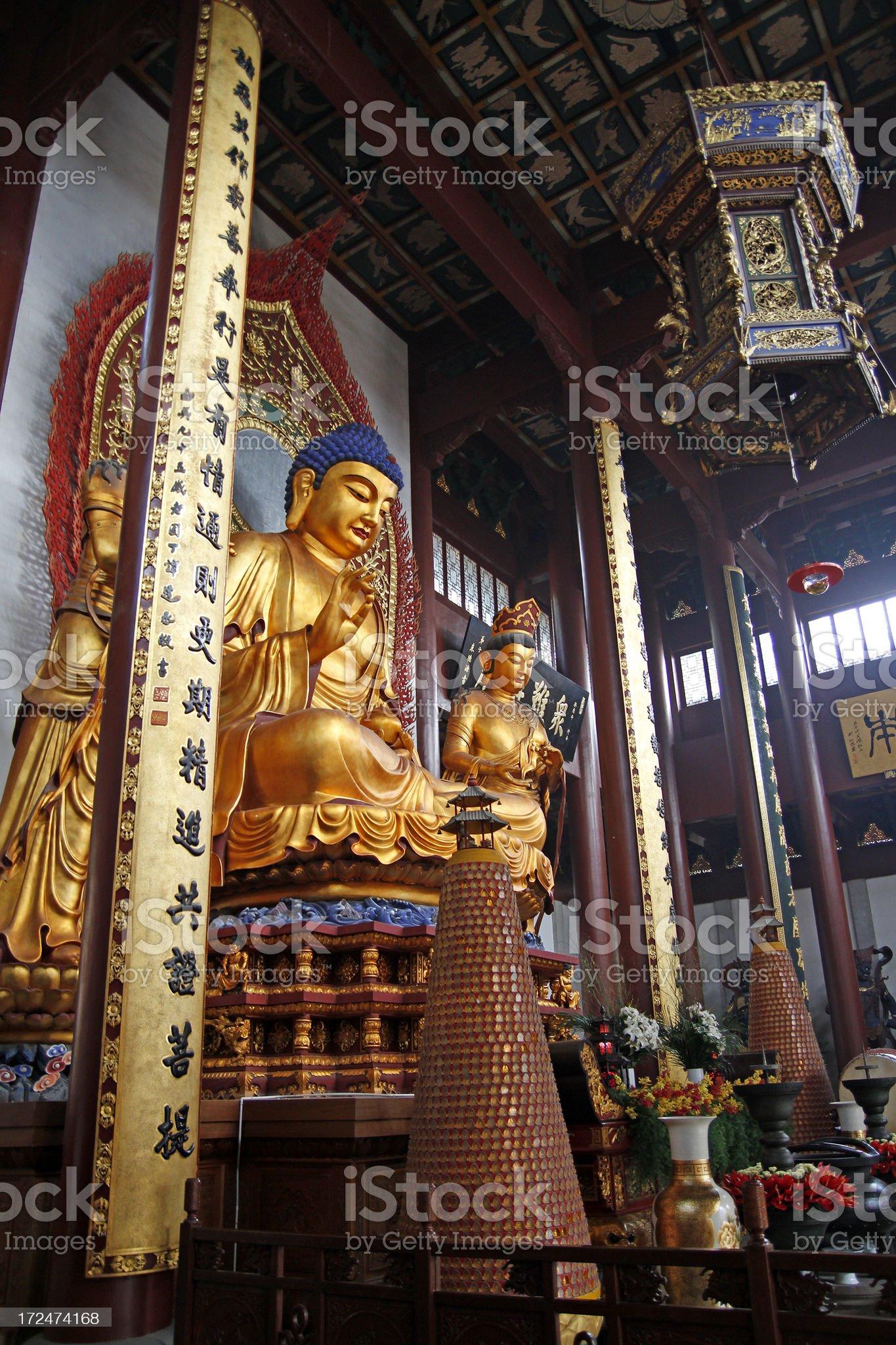 Lingyin Temple royalty-free stock photo