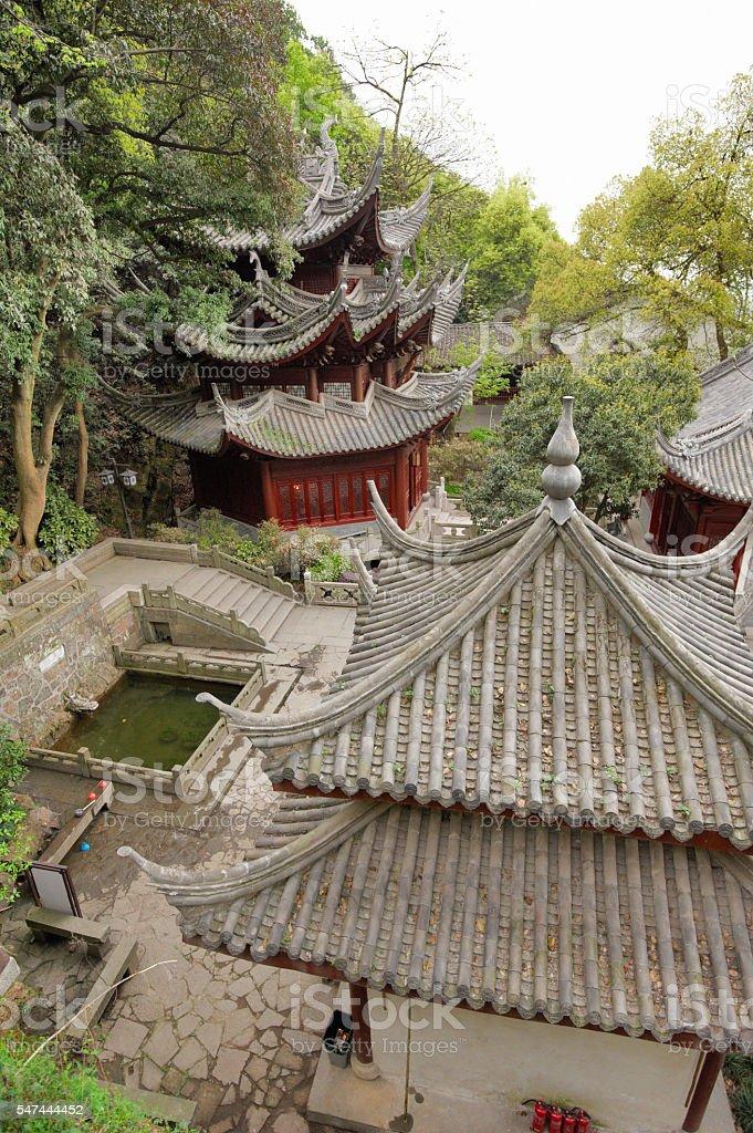 Lingyin Temple stock photo