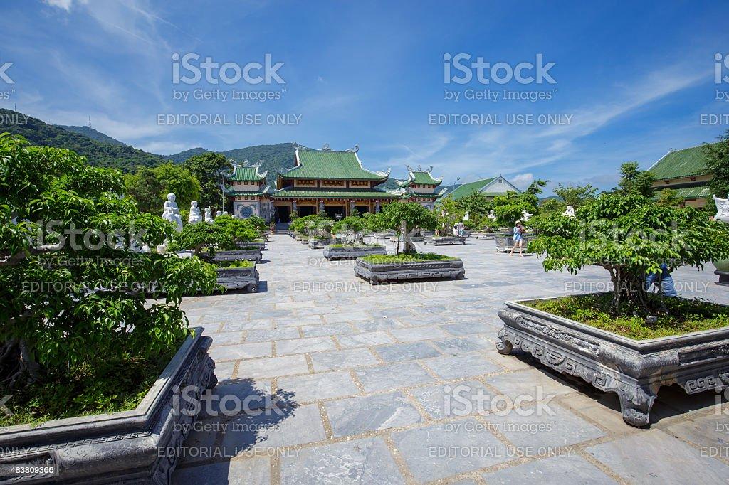 Linh Ung Pagoda in Da Nang, Viet Nam royalty-free stock photo