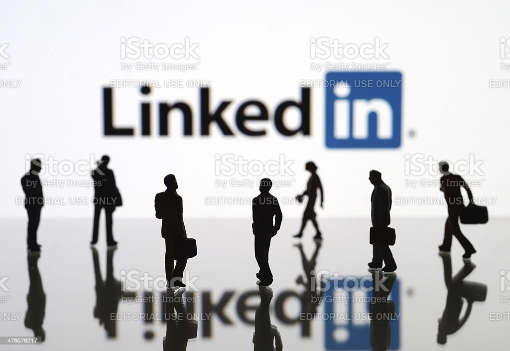 LinkedIn stock photo