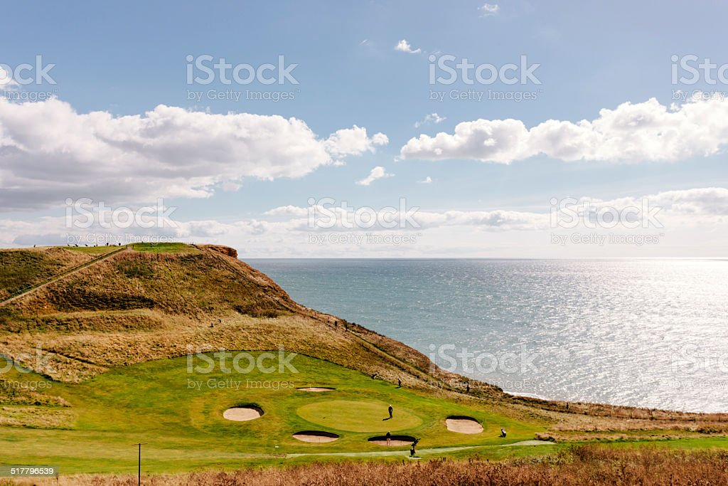 Links course stock photo