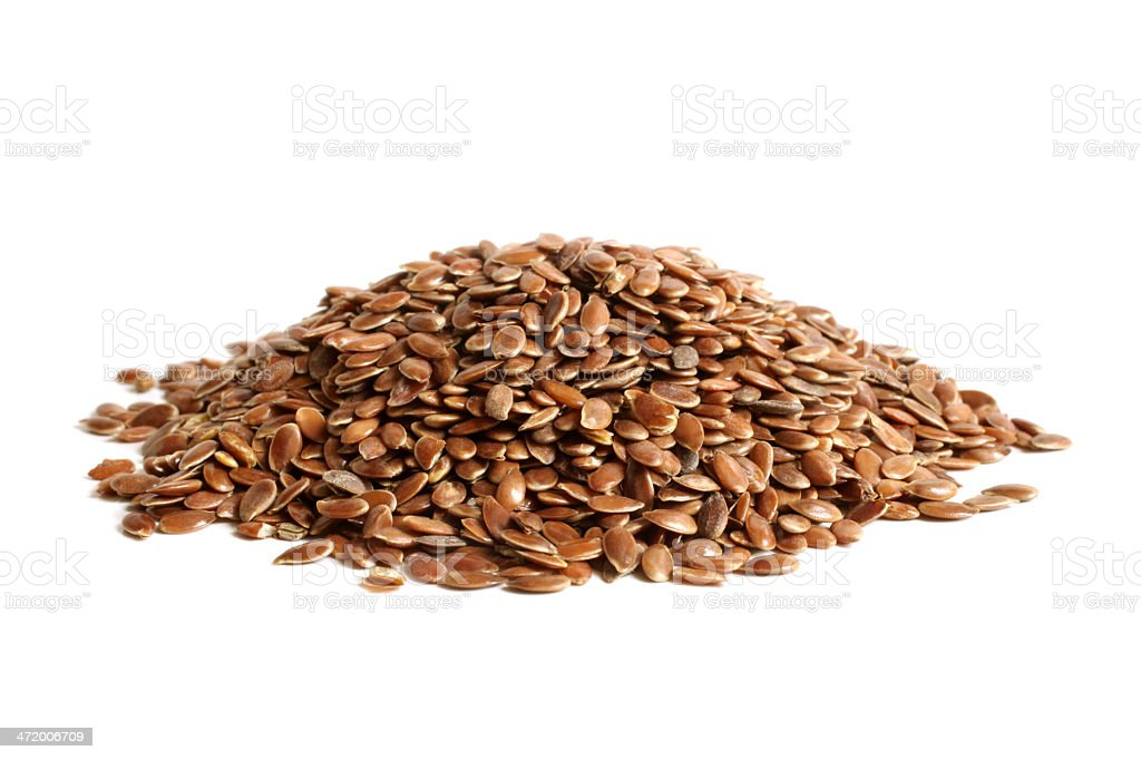 Linseed stock photo