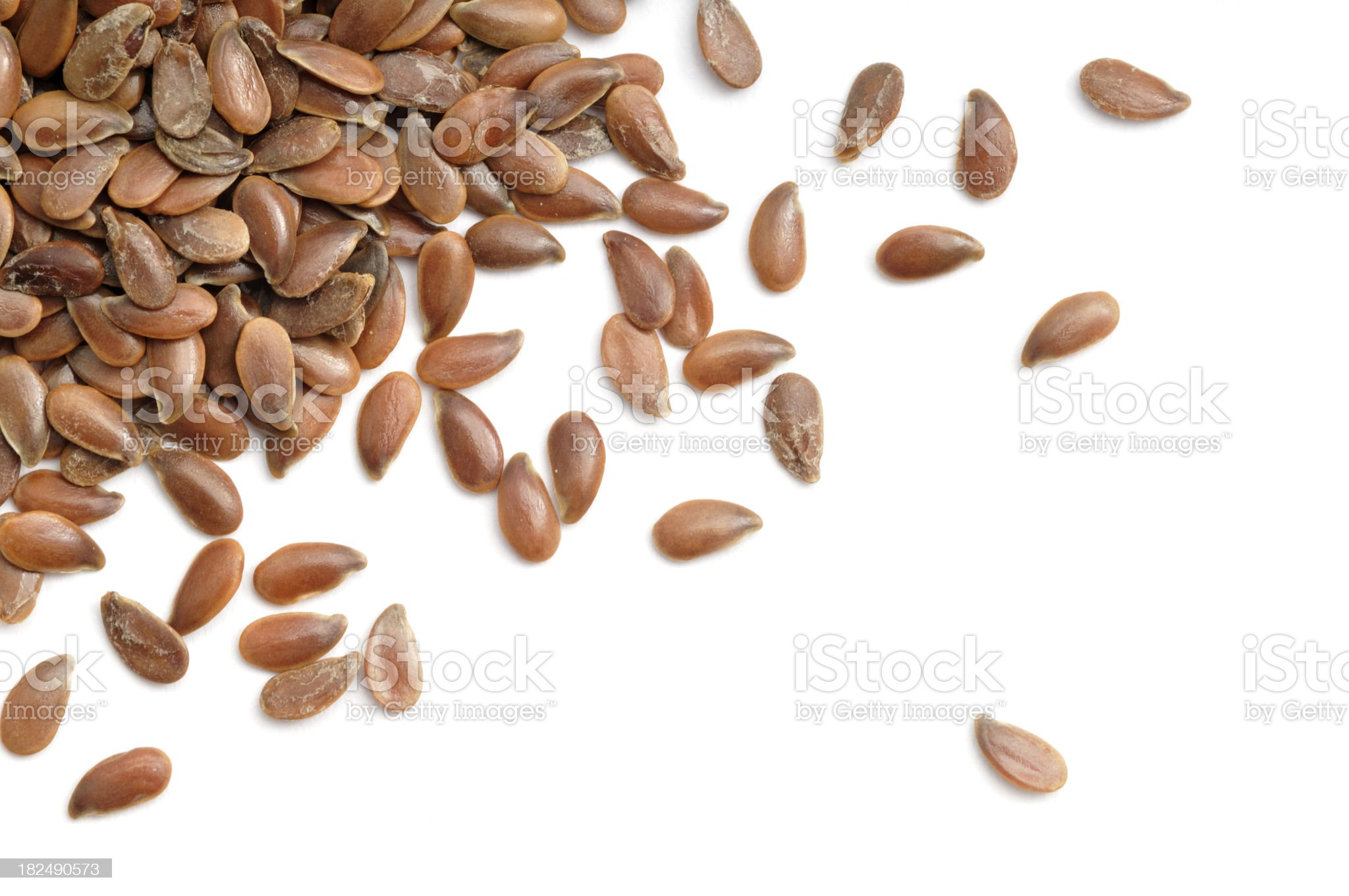 Linseed Split royalty-free stock photo