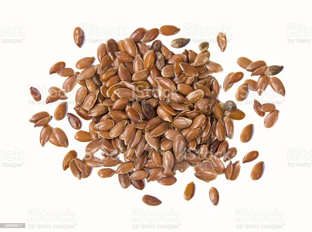 Linseeds stock photo